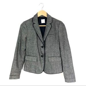 Gap The Academy Blazer In Navy Gray Uniform